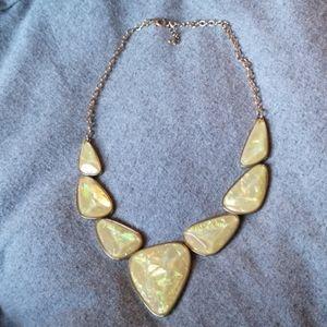 Jewelry - Iridescent statement necklace